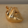 14K GOLD PLATED HEART SCULPTURE BY JEFF PRICE