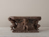 PEDESTAL WITH CARVED PUTTI