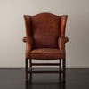 QUEEN ANNE WING-BACK CHAIR