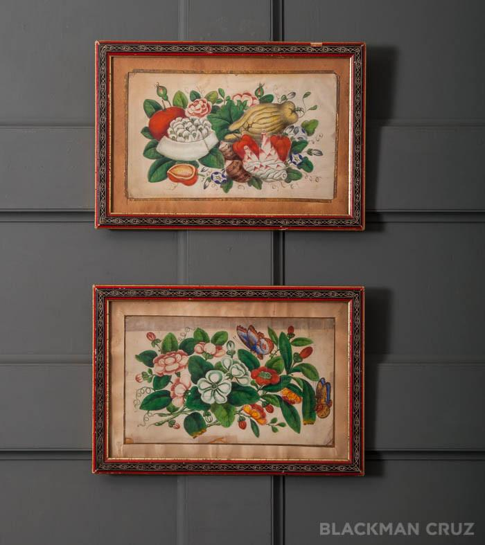 Pair of Continental Still Life Paintings