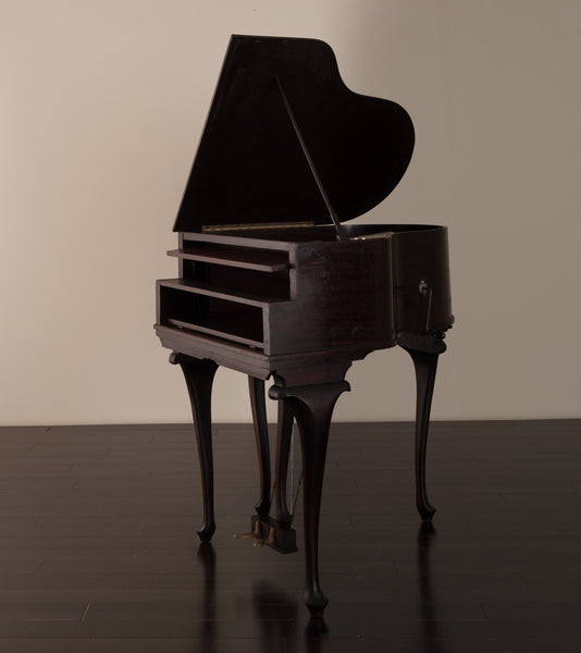 Acoustic Gramaphone (Victrola) in the Shape of a Grand Piano