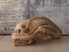 SANDSTONE ALIEN SCULPTURE, After H.R. Giger's painting Necronom IV