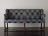 18th c Sofa with 19th Century American Coverlet Upholstery