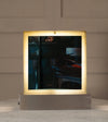 Rare Vanity Mirror by Angelo Lelli for Arredoluce