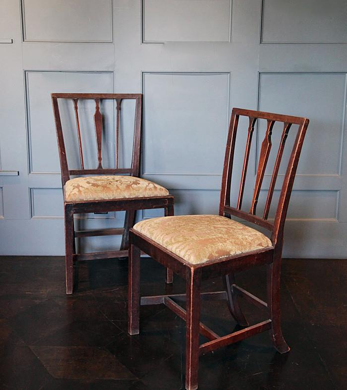 Pair of American Side Chairs