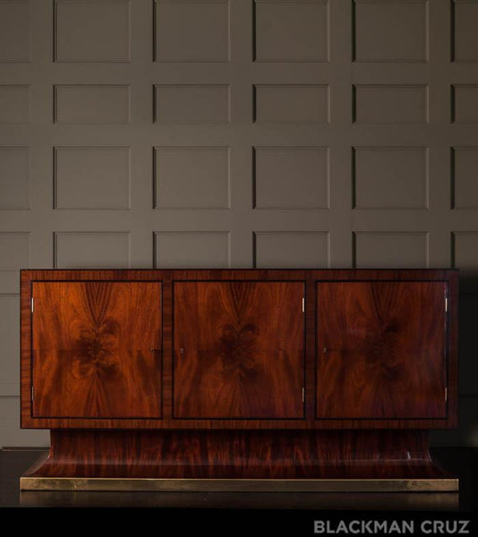 Early 20th Century Austrian Inlaid Sideboard