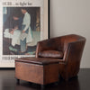 BART VAN BEKHOVEN LOUNGE CHAIR WITH OTTOMAN