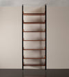 Adjustable Brazilian Rosewood Bookcase, Large