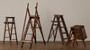 COLLECTION OF 4 SALESMAN SAMPLE LADDERS