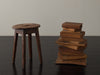 CONTINENTAL WOOD STOOL