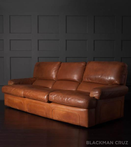 Cantú Leather Sofa