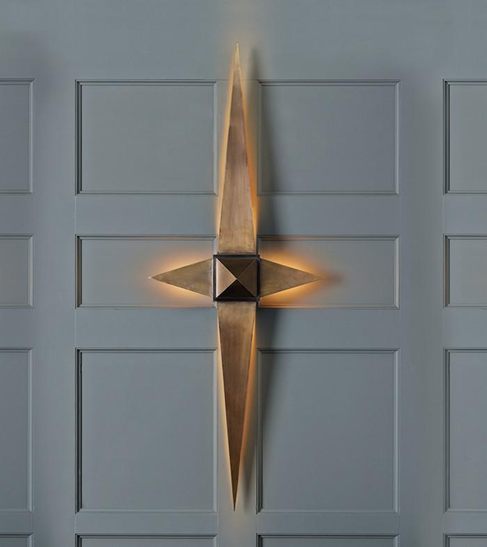 Compass Sconce