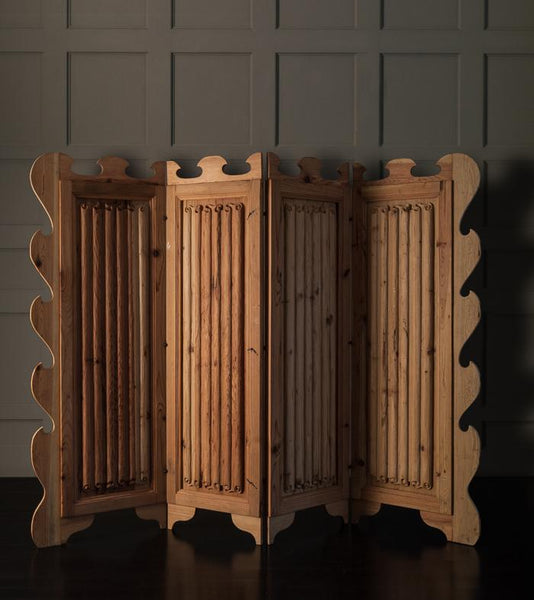4-Panel Folding Screen by Mike Diaz