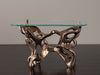 DELIQUESCENT SIDE TABLE, polished