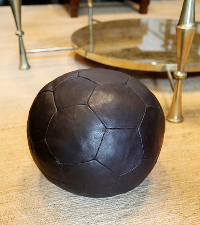 DeSede Leather Medicine Ball
