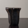 SMALL EBONY SIDE TABLE BY DAN POLLOCK