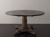 Japanned Black Chinoiserie Dining Table