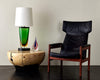 FLAVIO POLI FOR SEGUSO MONUMENTAL GLASS TABLE LAMP