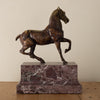 French Horse Sculpture