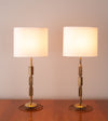 Pair of Industrial Table Lamps by Gianni Vallino