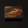 HAND PAINTED SNUFF BOX