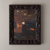 JAPANESE ROOT FRAMED MIRROR