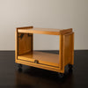 JOHN KEAL FOR BROWN SALTMAN CONVERTIBLE TEA CART