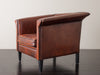 LEATHER LOUNGE CHAIR BY BART VAN BEKHOVEN