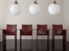 MARIO BELLINI SET OF FOUR LEATHER CHAIRS