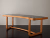 MODERNIST DEMILUNE DESK