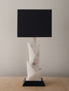 MODERNIST ALABASTER TABLE LAMP