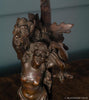 Mounted Satyr and Gargoyle Figures