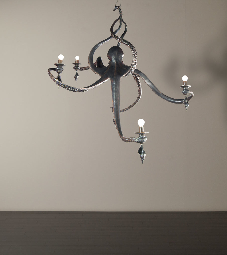 Octopus Chandelier by Bradley Clifford