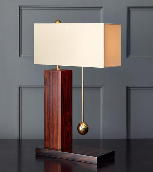 Brass Ball Series, One-Way Table Lamp