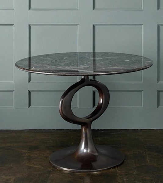 Round Op Table, Bronze