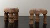 PAIR OF AREQUIPA SIDE TABLES BY MIKE DIAZ