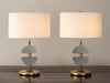 PAIR OF 'OSKAR SCHLEMMER'S GHOST' LAMPS BY GIANNI VALLINO