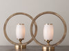 PAIR OF BRUTAL DE LO HABITUAL LAMPS BY GIANNI VALLINO