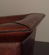 Pair of Italian Fin Shaped Arm Chairs
