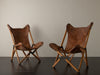 PAIR OF 'TRIPOLI' CHAIRS BY J. FENBY FOR PAOLO VIGANO