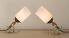 PAIR OF 'VERTIGO' LAMPS BY GIANNI VALLINO