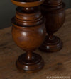Pair of Orientalist Wood Finials