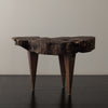 RUSTIC SIDE TABLE WITH STILETTO LEGS