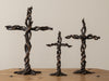 SET OF 3 VINE CROSSES BY DIANE HUSSON