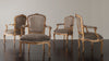 SET OF FOUR LOUIS XV CHAIRS