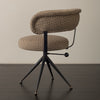 SET OF FOUR SWIVEL CHAIRS
