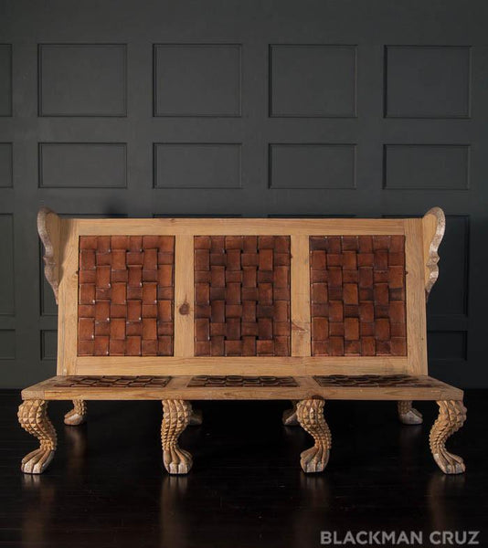 Umberto Wingback Sofa by Mike Diaz