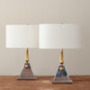 'The Bau with No Haus' Table Lamps By Gianni Vallino