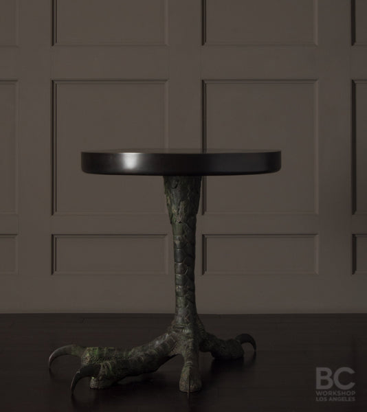 Talon Table with Dark Patinated Top