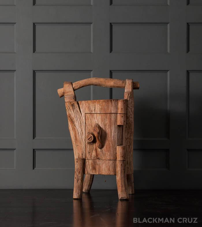 Hobbit Tree Stump Cabinet